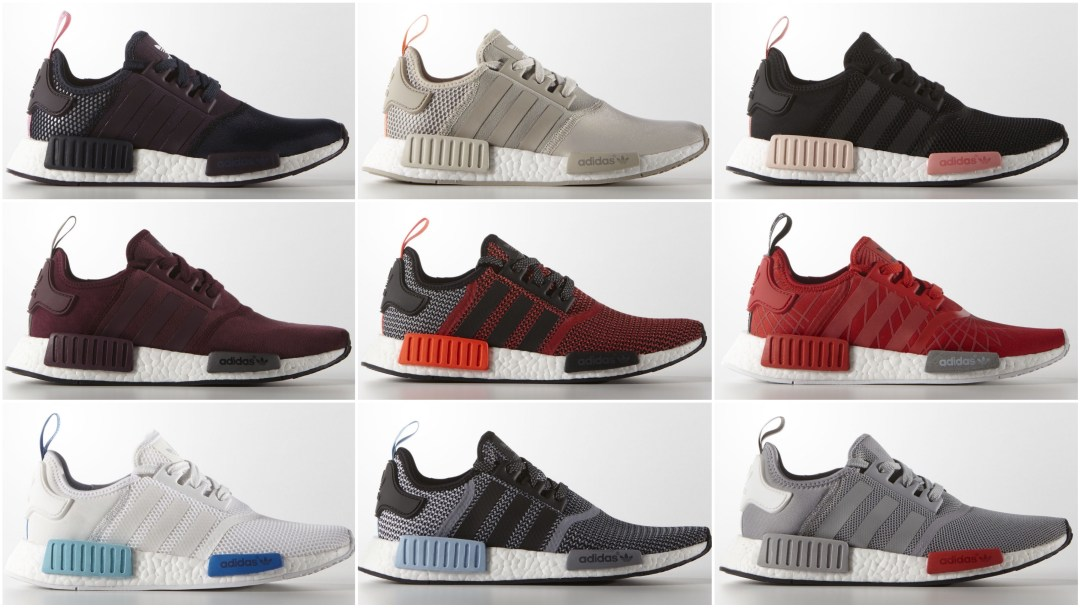 various colors bbd7c a1a76 The adidas NMD R1 Runner is Available in Multiple Colorways ...