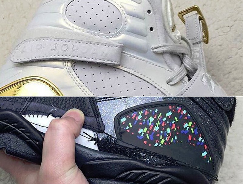 new product d7ca4 354bb A Glimpse at the Upcoming Air Jordan 8 Champagne and Cigar Pack ...