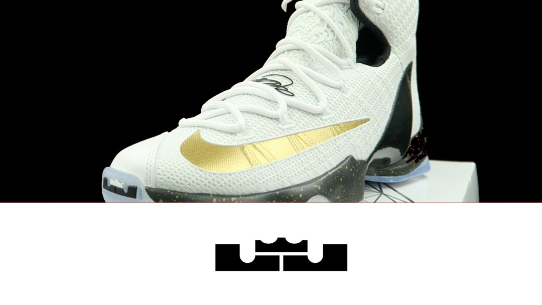 best website 7f908 5e6f0 Nike LeBron 13 Elite White  Black - Gold   Detailed Look and Review ...