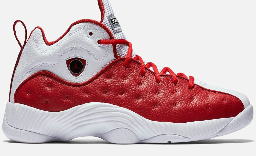 new arrival ccb92 5a249 The Jordan Jumpman Team 2 Retro is Now Available in White  Red ...