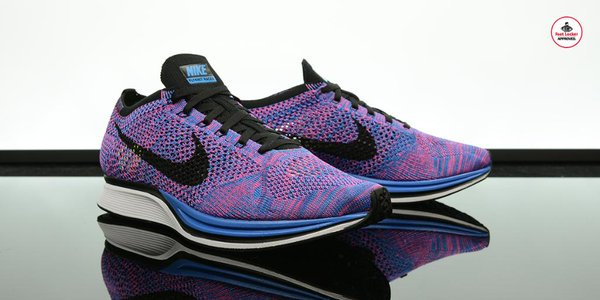 945d887754891 Get Ready for Summer in the Nike Flyknit Racer  Indigo  - WearTesters