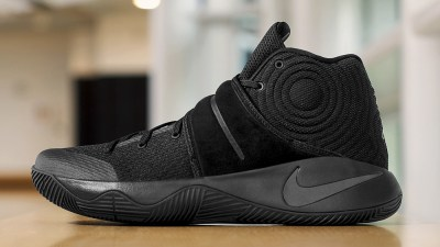 reputable site f532a 28abe The Nike Kyrie 2  Triple Black  is Available Now