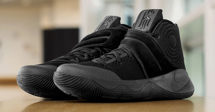 Get Up Close and Personal with the Nike Kyrie 2 'Triple Black' 2