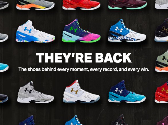 Under Armour has Restocked Almost All Curry Two Colorways - WearTesters bc541be40cb3