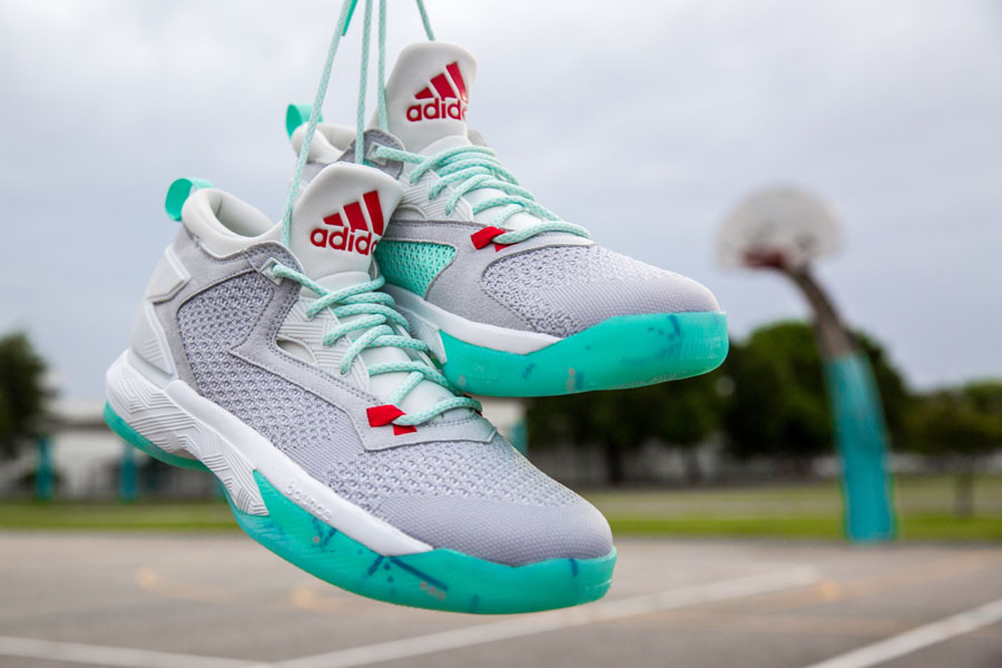 97028b78df48 ... sale up close and personal with the adidas d lillard 2 pdx carpet b9cfe  dcaff