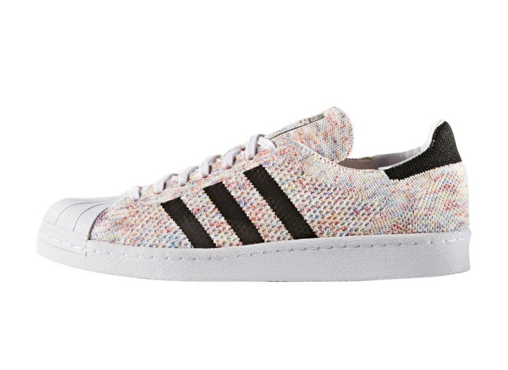 50048ed1464d6 Multicolor Primeknit Hits the adidas Superstar - WearTesters