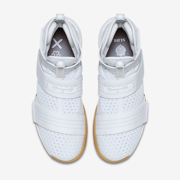 88aaf0321b5 The Nike LeBron Soldier 10 in White  Gum is Available Now - WearTesters