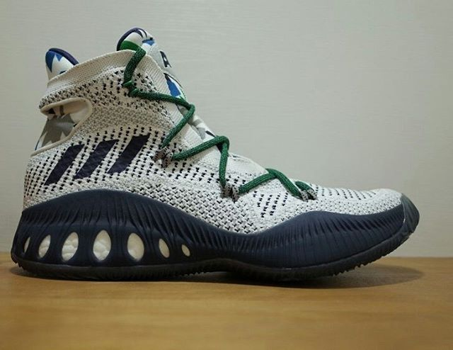 online store 6bcb6 5b0c9 Adidas Crazy Explosive – Andrew Wiggins PE Home- Side view