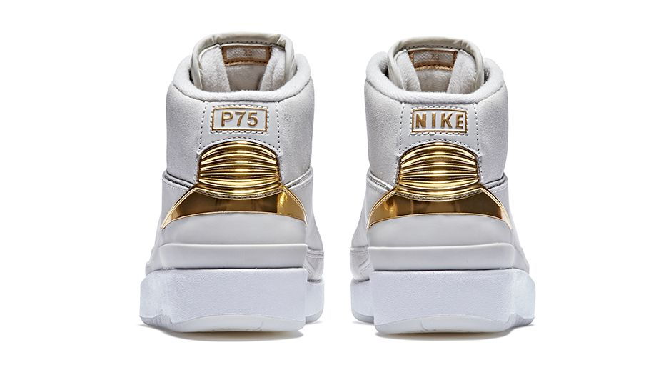 d510b9dfe580f0 Nike X Quai 54 - Air Jordan 2 Retro Q54 Heel - WearTesters