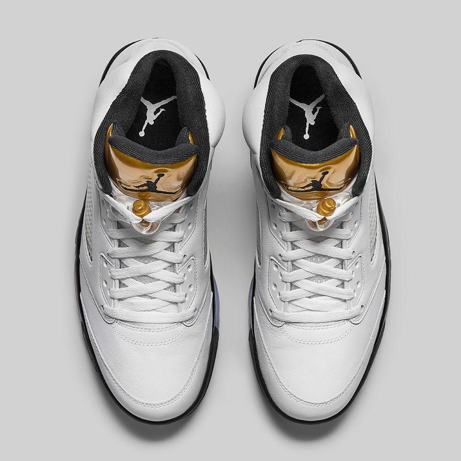 44d5c51cc7e527 Air Jordan 5 Retro Gold Medal 4 - WearTesters
