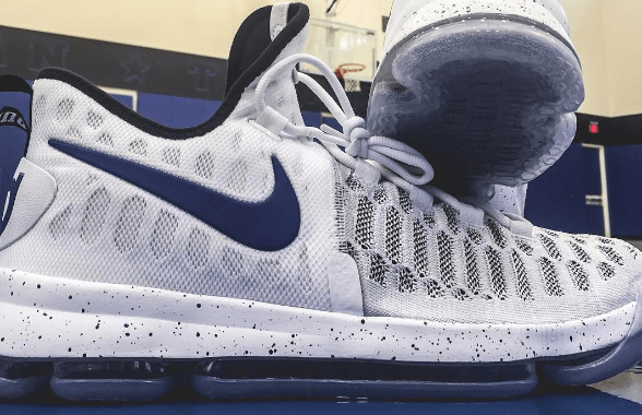 613ff0cc5017 Check Out the KD 9 in this Exclusive Duke Colorway - WearTesters
