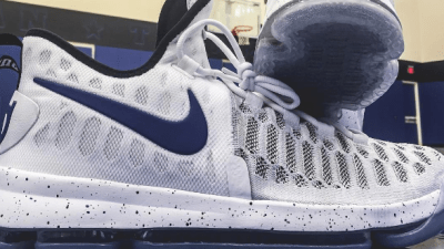 f19552305d6b Check Out the KD 9 in this Exclusive Duke Colorway