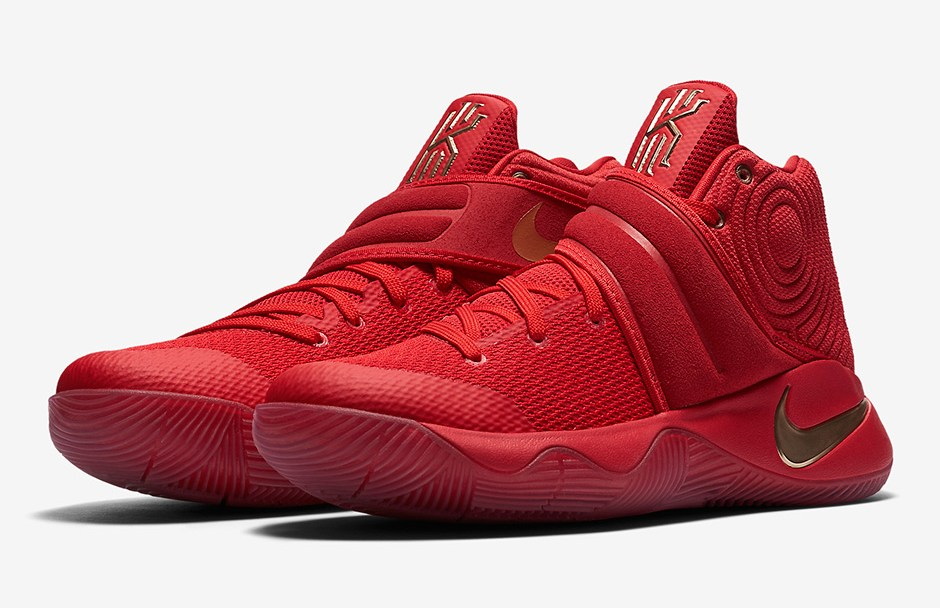 size 40 106b3 91edf The Nike Kyrie 2 has a  Gold Medal  Colorway Before Kyrie Has an ...