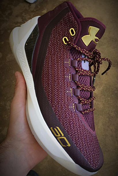 5b5f3e73417 cheap under armour curry 3 burgundy in wine gold sale 2