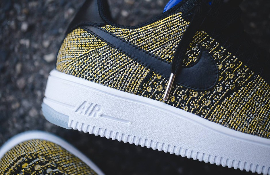 size 40 c6f83 4e3b8 Warrior Fans Will Love this Colorway of the Nike Air Force 1 Flyknit ...