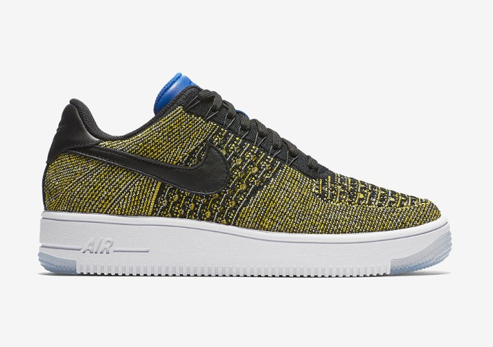 Warrior Fans Will Love this Colorway of the Nike Air Force 1 Flyknit-3