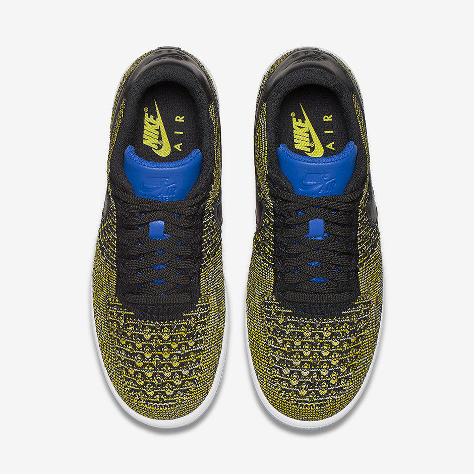 new arrivals 3b33b bb05a Warrior Fans Will Love this Colorway of the Nike Air Force 1 Flyknit-4