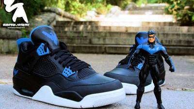 air jordan IV nightwing custom ecentrik artistry 3