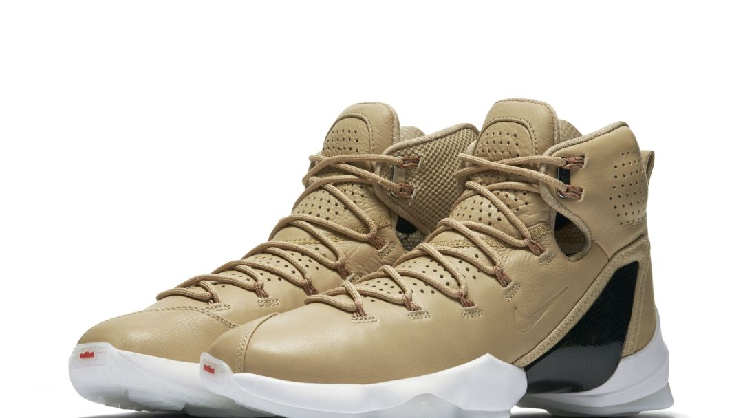 1ec4512f3bf0d1 The Nike LeBron 13 Elite LB  Linen  Gets a Release Date - WearTesters