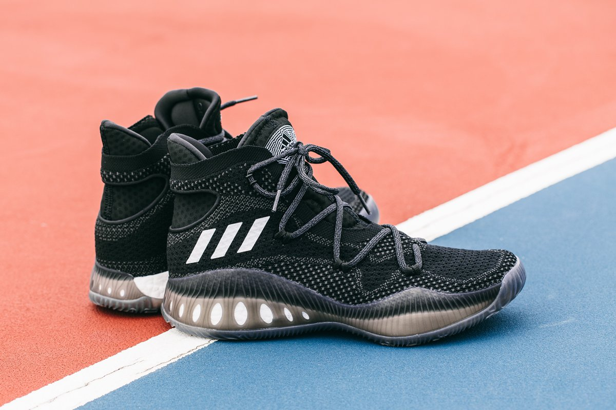 01cac49b716dc Close-Up Look at the adidas Crazy Explosive Primeknit  Black ...