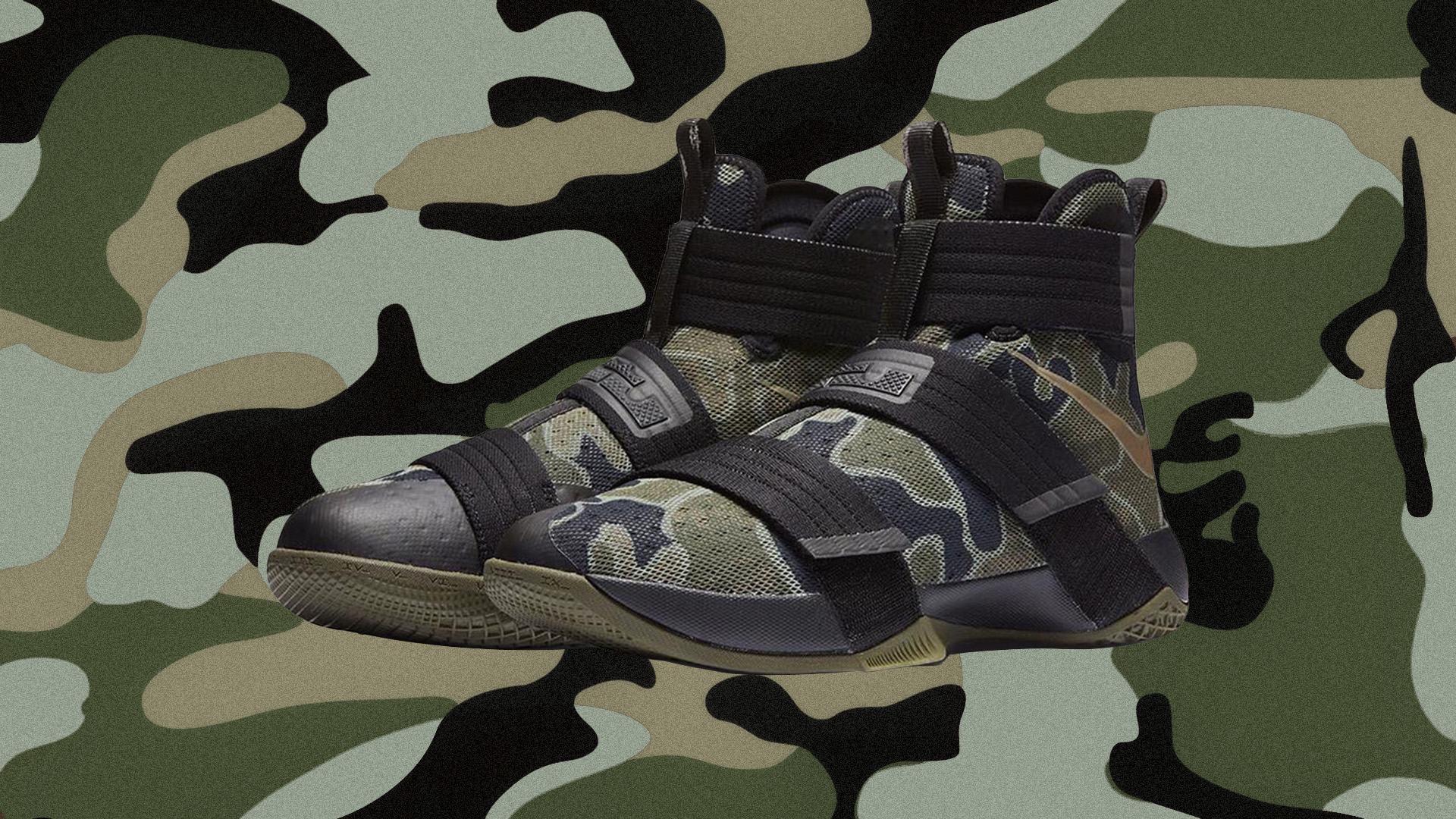 low priced f2a28 6b1c4 The Nike LeBron Soldier 10 SFG  Camo  is Available Now - WearTesters