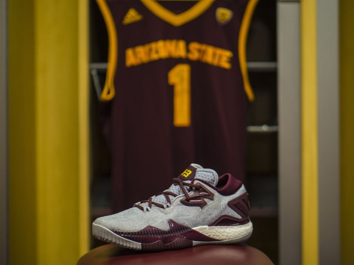 Get Up Close and Personal with the adidas CrazyLight Boost 2016 ASU Edition 6