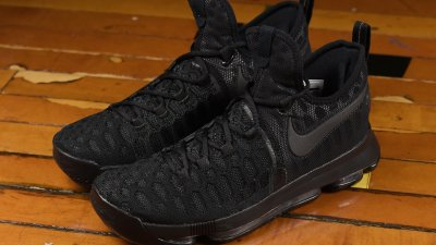los angeles bbd50 e58dd Check Out the Nike KD 9 in  Triple Black