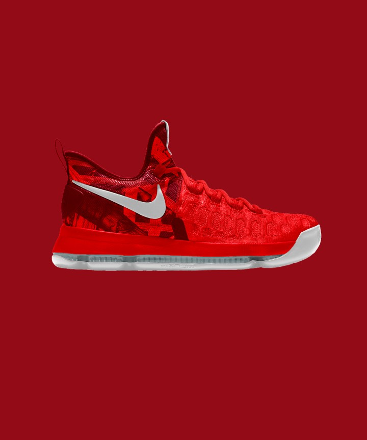 New Multi-Color Options for the KD 9 is Available on NikeiD-3