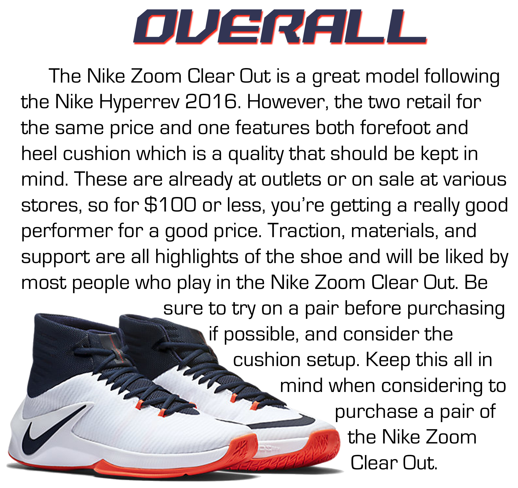 new products 73c3d c42c2 ... buy nike zoom clear out performance review 6 16947 56a5d