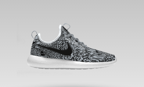 ec6ec3dc7cd5 You Can Now Make a Turtle Dove Yeezy 350 Version of the Nike Roshe ...