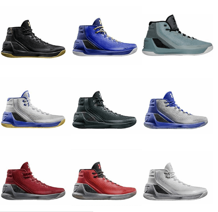 Under Armour Curry 3 | Release Schedule