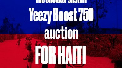 cf7e503ea SneakersNStuff Auctions Yeezy Boost 750s for Haiti Relief