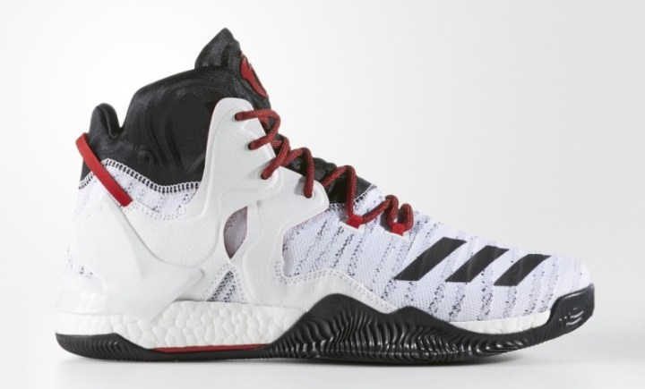 adidas d rose 7 primeknit white black red 1