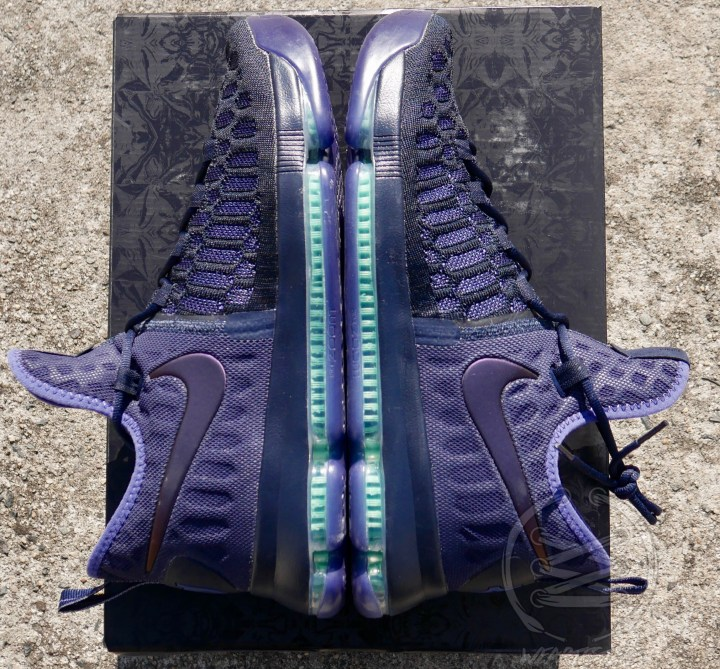 Nike Zoom KD9 Dark Obsidian - Side Both Shoes