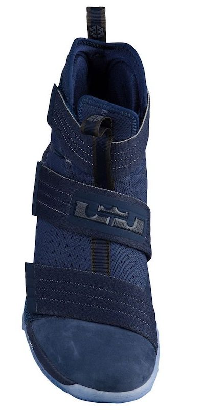 Nike Zoom LeBron Soldier 10 Midnight Navy 2 - WearTesters 23b9cd583f0c