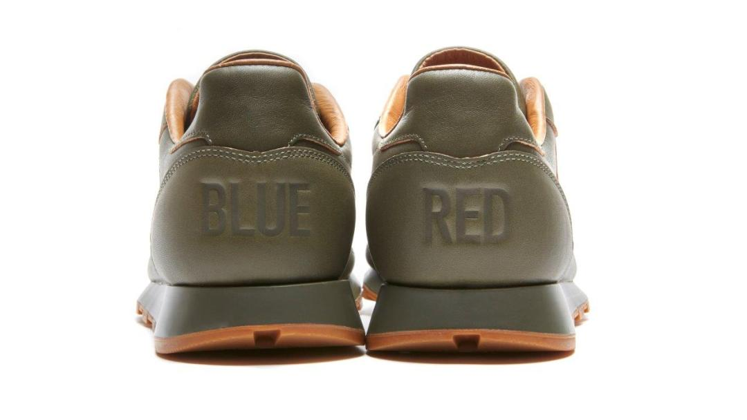 d7f4b80417b Reebok and Kendrick Release Final  Red and Blue  Classic Leather Lux ...