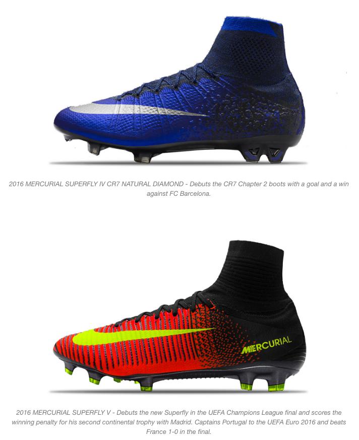 nike and cristiano ronaldo mercurial boots 11