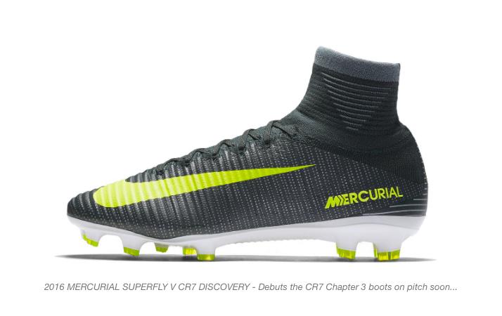 nike and cristiano ronaldo mercurial boots 12