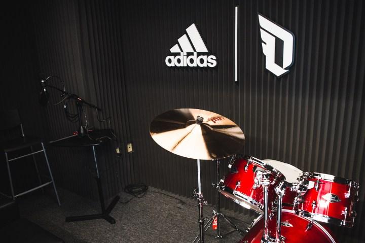adidas Dame 3 Oakland High recording studio 2
