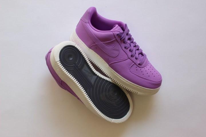 nikelab air force 1 purple stardust lunarlon zoom 1