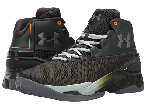 under armour longshot artillery green