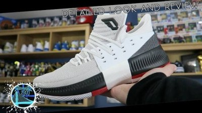 low priced 578b0 40dd6 adidas Dame 3 Rip City  Detailed Look and Review