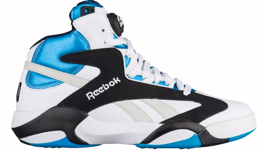 ab78765280f8 The Reebok Shaq Attaq  White Black Azure  Has Landed - WearTesters