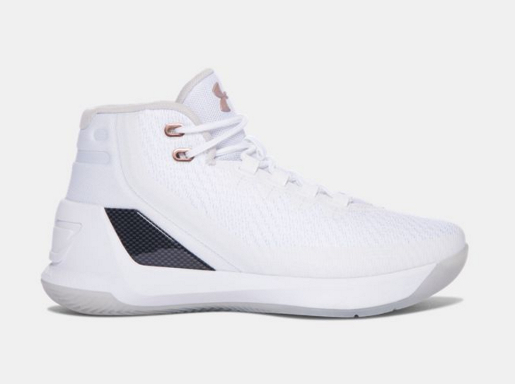 118fda9d0967 Rose Gold UA Curry 3s for the Kids - WearTesters