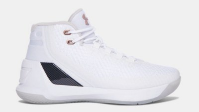 under armour curry 3 rose gold gs kids 5