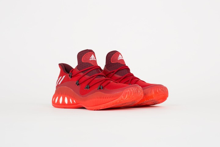purchase cheap ba714 0f278 The adidas Crazy Explosive Low in Scarlet Power Red - WearTesters