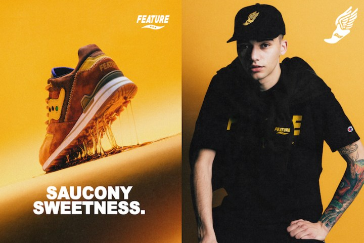 Feature x Saucony Courageous Belgian Waffle 7