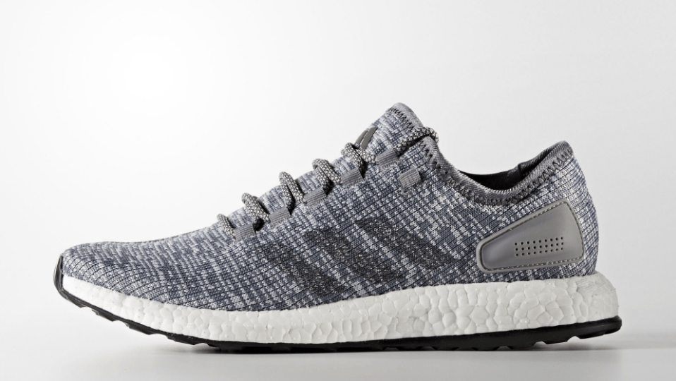 adidas pureboost solid grey 1