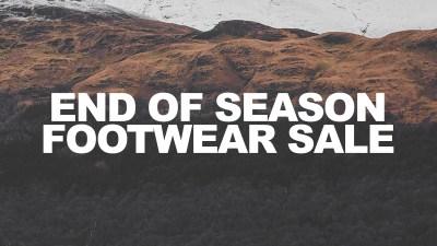 hanon end of season sale footwear