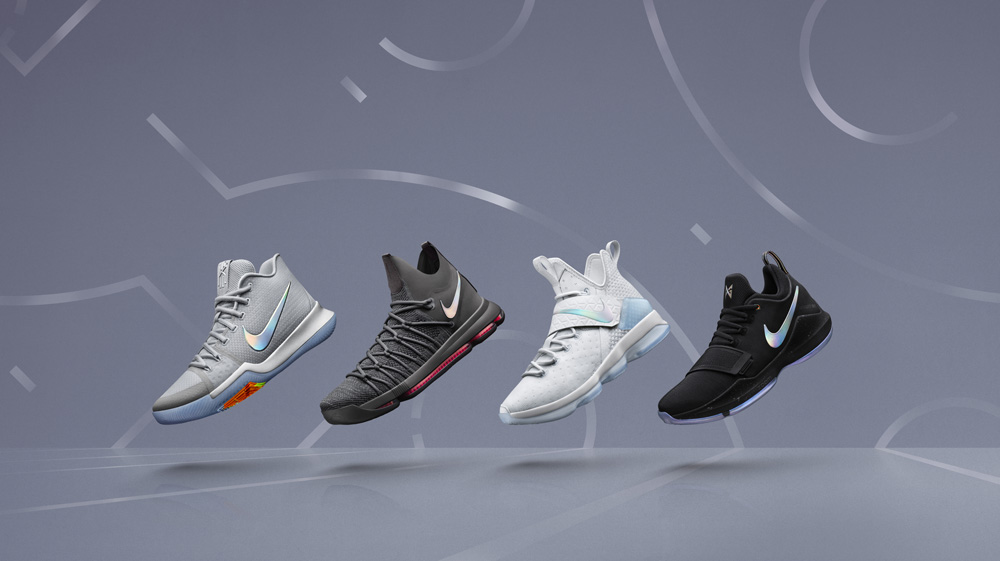 65ab35fe5eaa It s  Time to Shine  with this Nike Basketball Pack with Iridescent ...